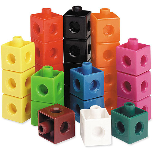 Learning Resources Snap Cubes, Set of 500