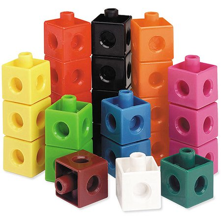 Learning Resources Snap Cubes, Set of (Snap Cubes)