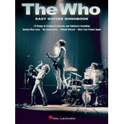 The Who - Easy Guitar Songbook (Paperback)