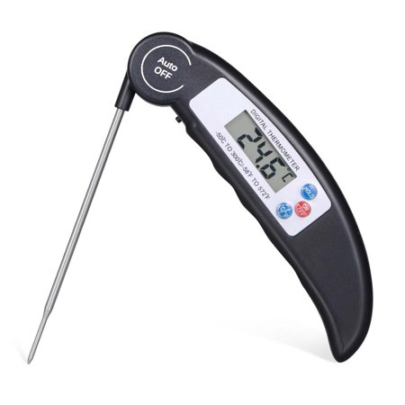 Instant Read Digital Meat Thermometer (Meat Thermometer Probe Digital Grill Instant Read Food Cooking Grill Kitchen )