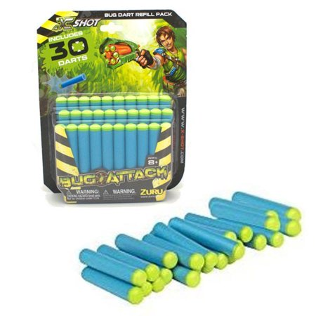 Bug Attack Bug Dart Refill Pack Includes 30 Darts - image 1 of 1