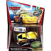 Disney Cars Main Series Jeff Gorvette with Metallic Finish Diecast Car