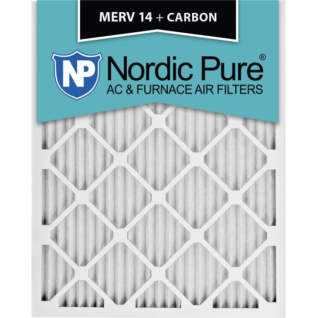 Nordic Pure 14x24x1 MERV 12 Pleated AC Furnace Air Filters 4 Pack