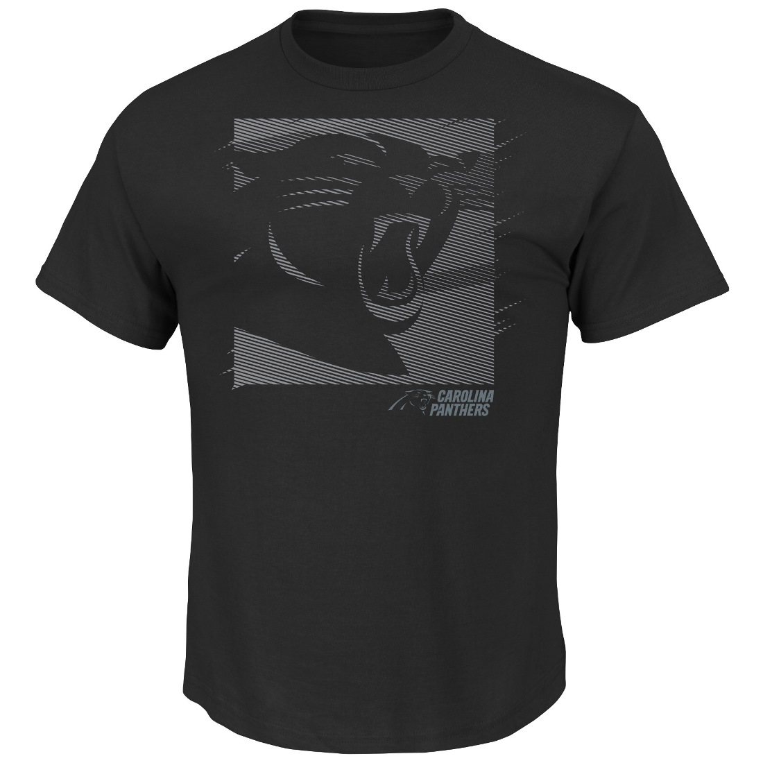"Carolina Panthers Majestic NFL ""Right Direction"" Men's S/S Premium T-Shirt"