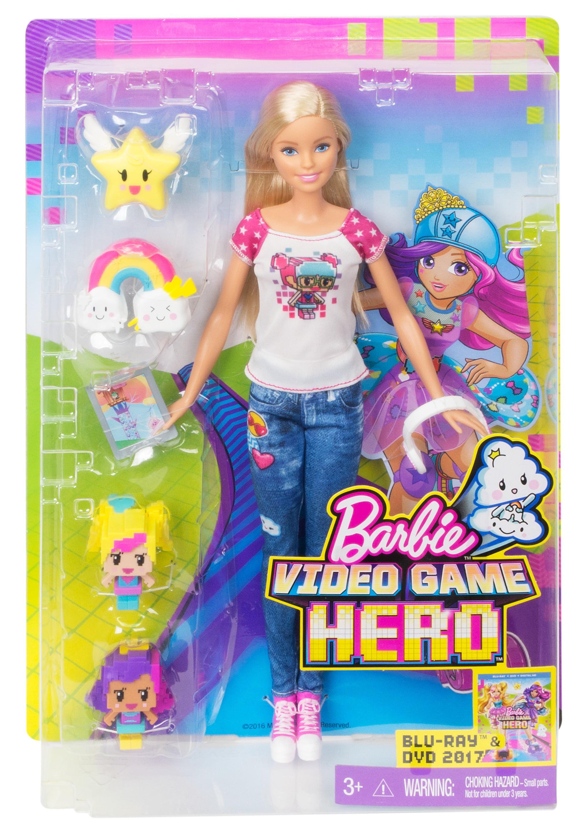 Barbie DTW17 Video Game Hero Skating Doll – medmind.co.uk