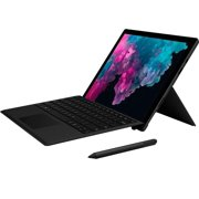 """Microsoft Surface Pro 6 12.3"""" (2736 x 1824) Touch Screen - Intel 8th Gen Core i5 (up to 3.40 GHz) - 8GB Memory - 256GB SSD - With Keyboard and Surface Pen - Black"""