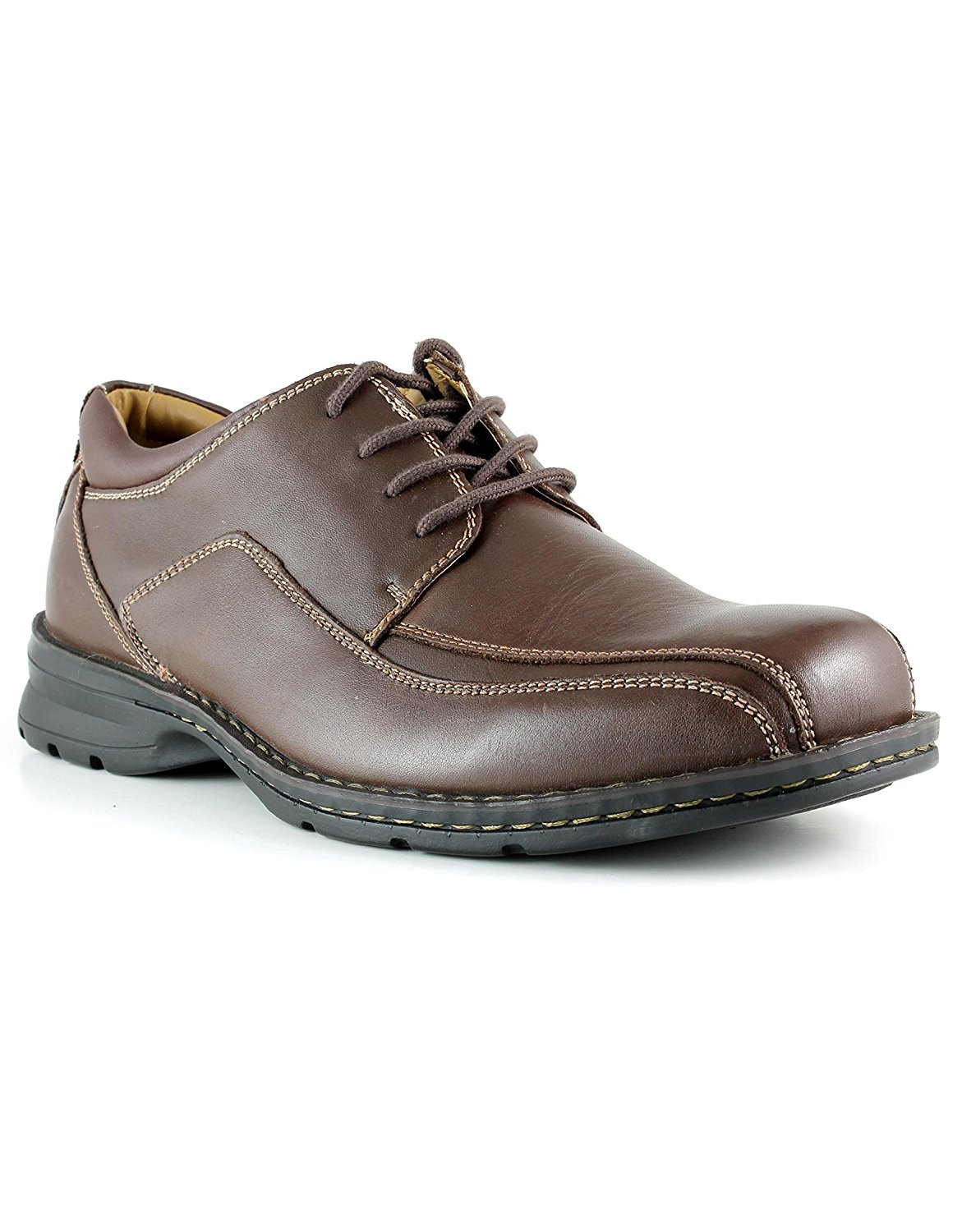 Dockers Mens Trustee Leather Lace-Up Oxford Casual Dress Shoe by Dockers