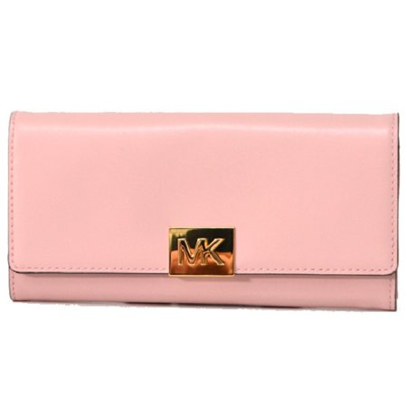 9fb206a4dce8 Michael Kors - Michael Kors Mindy Carryall Wallet, Pastel Pink - Walmart.com