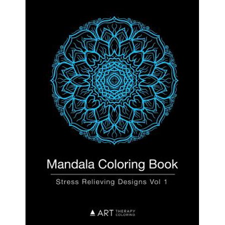 Mandala Coloring Book Stress Relieving Designs Vol 1