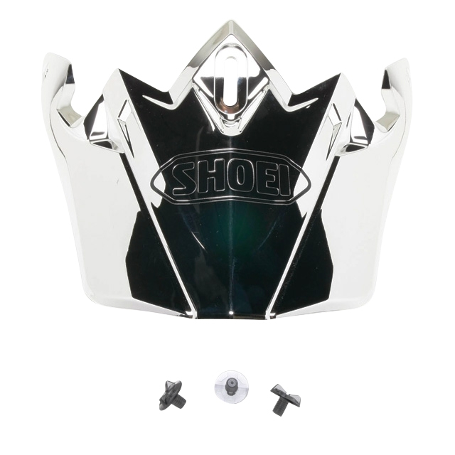 SHOEI Peak for VFX-W Helmet Solid Color Chrome One Size Fits All #236091