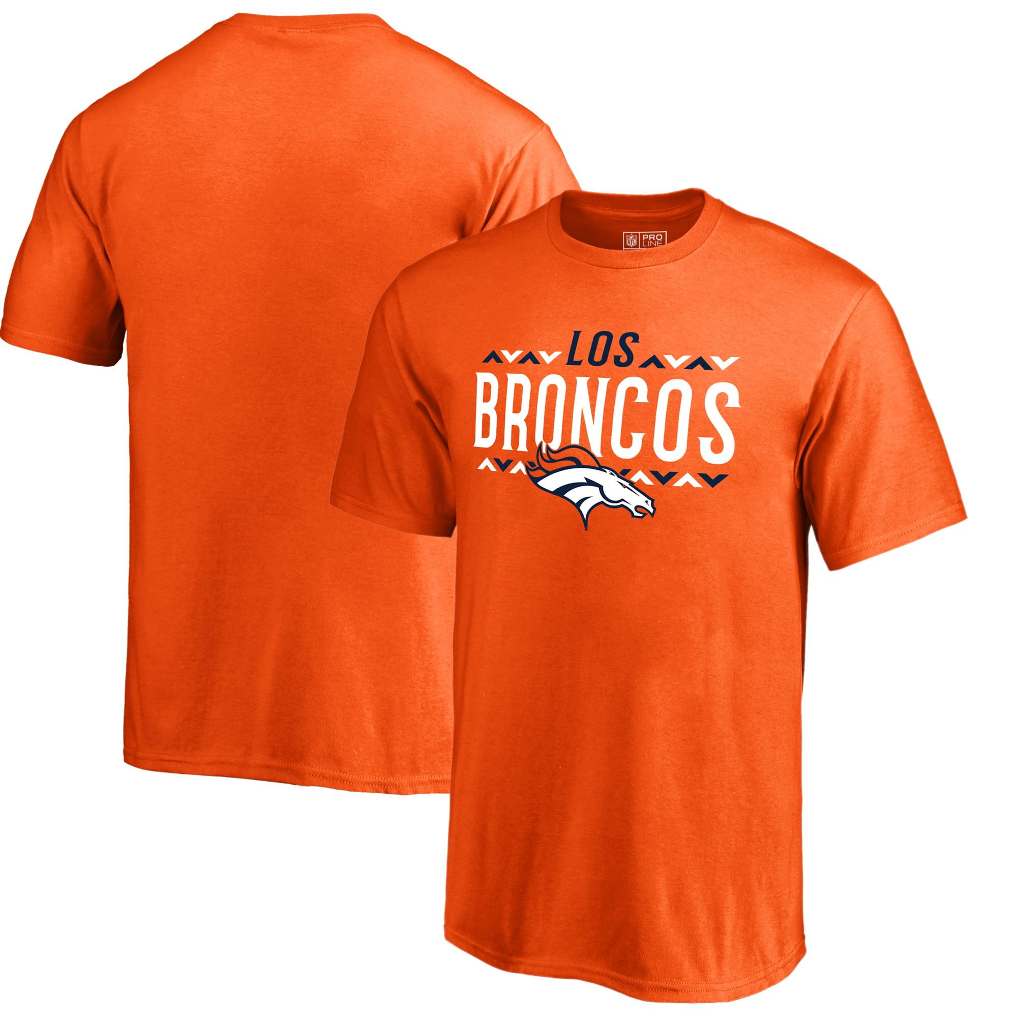 Denver Broncos NFL Pro Line by Fanatics Branded Youth Arriba T-Shirt - Orange