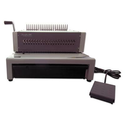 Combbind C800pro Binding System, Binds 500, 18 1 2 X 19 5 16 X 14 7 8, Gray by Swingline