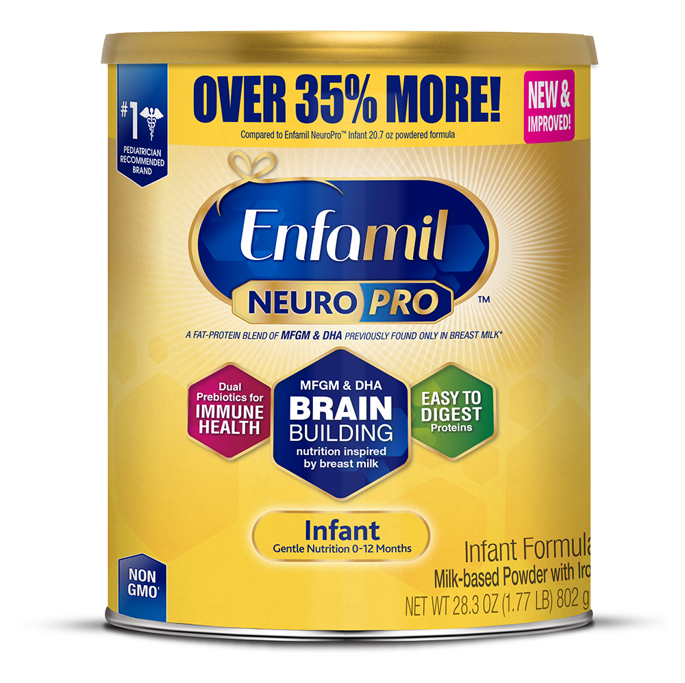 Enfamil Infant NeuroPro Baby Formula, 28.3 oz Powder Value Can