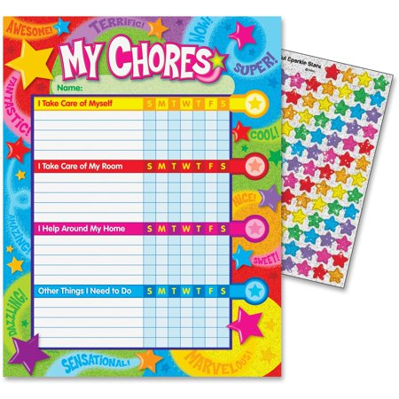 Trend, TEP73130, Praise Words 'n Stars Chore Charts, 1 Set - Star Wars Eye Chart