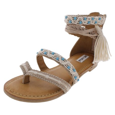 222e676b90f3 Not Rated - Not Rated Womens Macramela Ankle High Strappy Gladiator Sandals  - Walmart.com