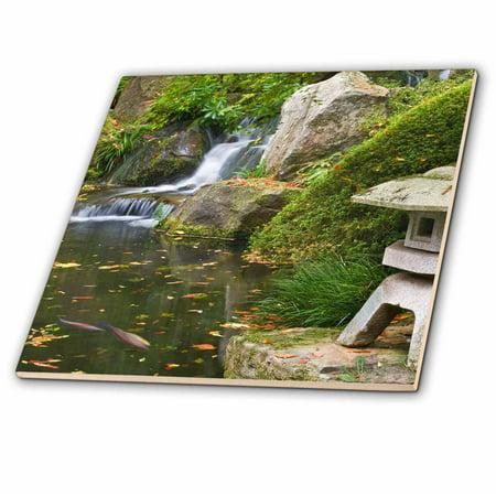 3drose Usa Oregon Portland Koi Pond Japanese Garden