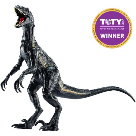 - Jurassic World Villain Dino Indoraptor Dinosaur Figure