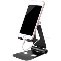 Multi-Angle Tablet Stand Holders, Adjustable iPad Stand, Cell Phone Stands, iPhone Stand, Nintendo Switch Stand, iPad Pro Stand, iPad Mini Stands and Holders for Desk (4-10 inch Range), Black