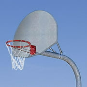 MacGregor® Extra-Tough Playground System with Double Rim and Chain Net-Color:Silver,Size:4' Ext