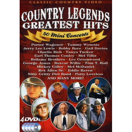 Country Legends Greatest Hits: 50 Mini Concerts -