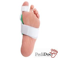 PediDoc Bunion Corrector and Bunion Relief Hinged Bunion Splint with Hallux Valgus Bunion Pads Bunion Toe Straightener to Realign Toes and Effective Foot Pain Relief