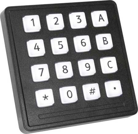 Industrial Illuminated Keypad, Storm Interface, 720 TFXI 16 KEY