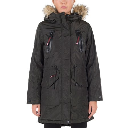 Extreme Cold Weather Parka (Canada Weather Gear Women's Insulated Parka )