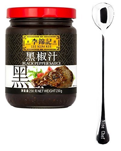 Lee Kum Kee Sauce (Pepper Sauce (???) 1 Bottle) + One NineChef Spoon by