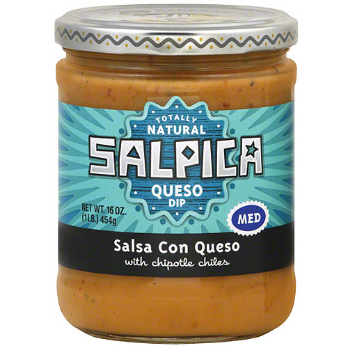 Salpica Salsa Con Queso, 16 oz (Pack of 6)