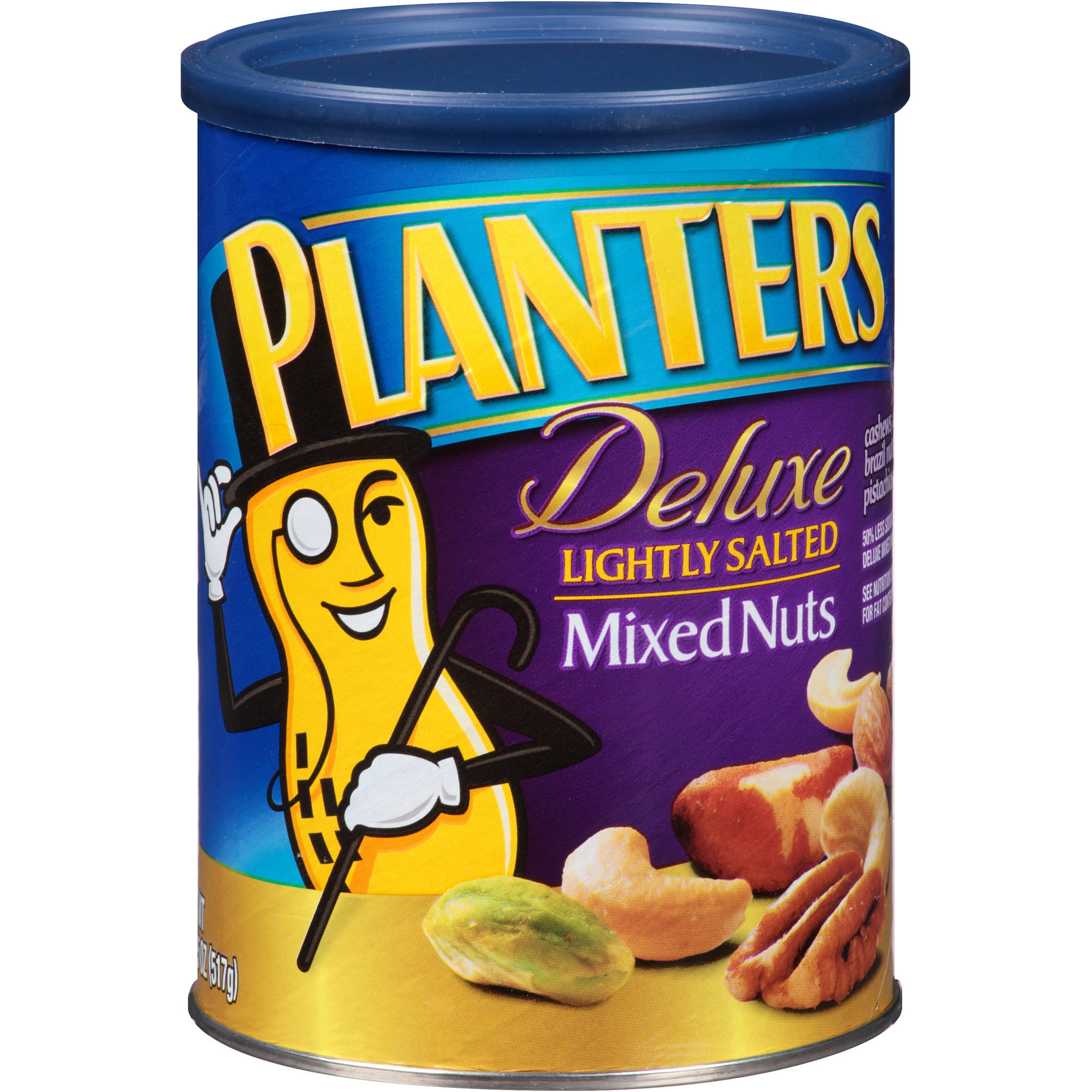 Planters Deluxe Lightly Salted Mixed Nuts 18 25 Oz