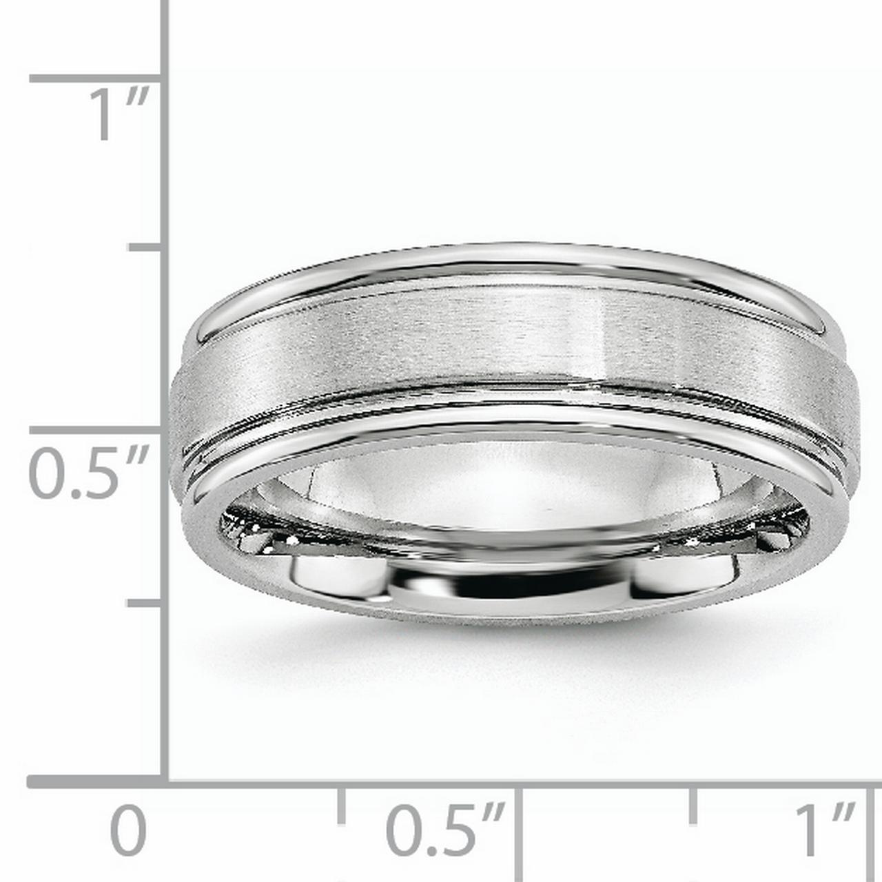 Gift Cobalt Flat Polished 5mm Band