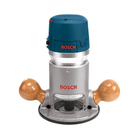 Bosch 2.25-HP Corded Fixed Base Router 6-Inch Diameter 12-Amps