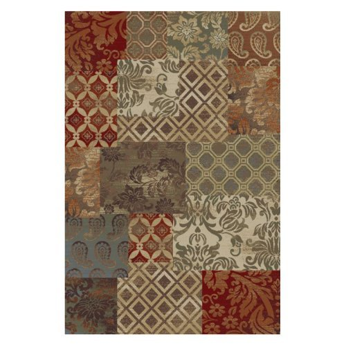 Tayse Rugs Sensation Collection 4790 Abstract Rug - Multi
