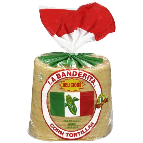 "La Banderita Yellow Corn 6"" Tortillas, 80 ct"