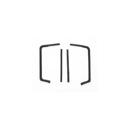 - Eckler's Premier  Products 40-138463 Full Size Chevy Vent Window Weatherstrip Set, 2-Door Hardtop & Convertible, Impala,