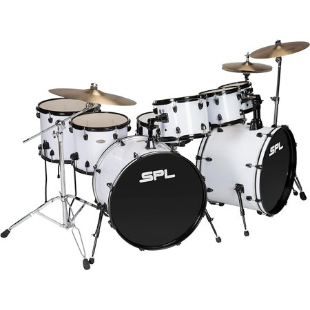 Sound Percussion Labs UNITY 8-Piece Double Bass Drum Shell Pack White