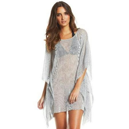 40d7b15ae1a Elan - Elan Bat Sleeve Tunic-M-Elan grey - Walmart.com