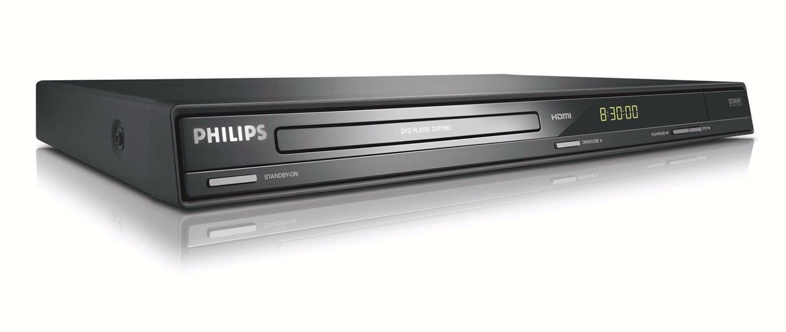 PHILIPS DVP3982 F7 DVD Player w 1080p HDMI upconversion & DivX Playback (Refurbished) by Philips