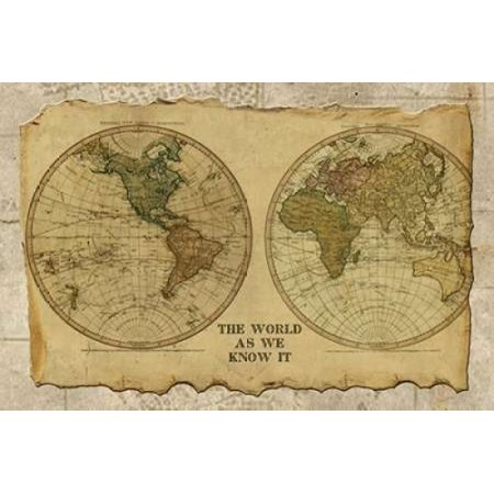 Antique Map I Poster Print by Beth Albert (12 x
