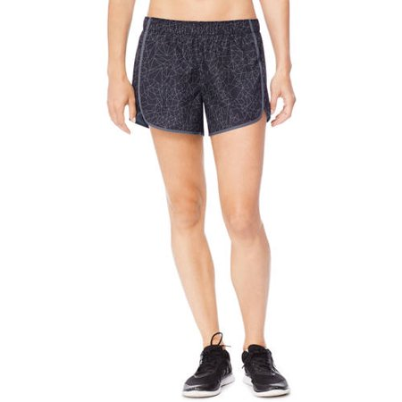 Hanes Sport Women's Performance Woven Running Shorts with Built in Liner