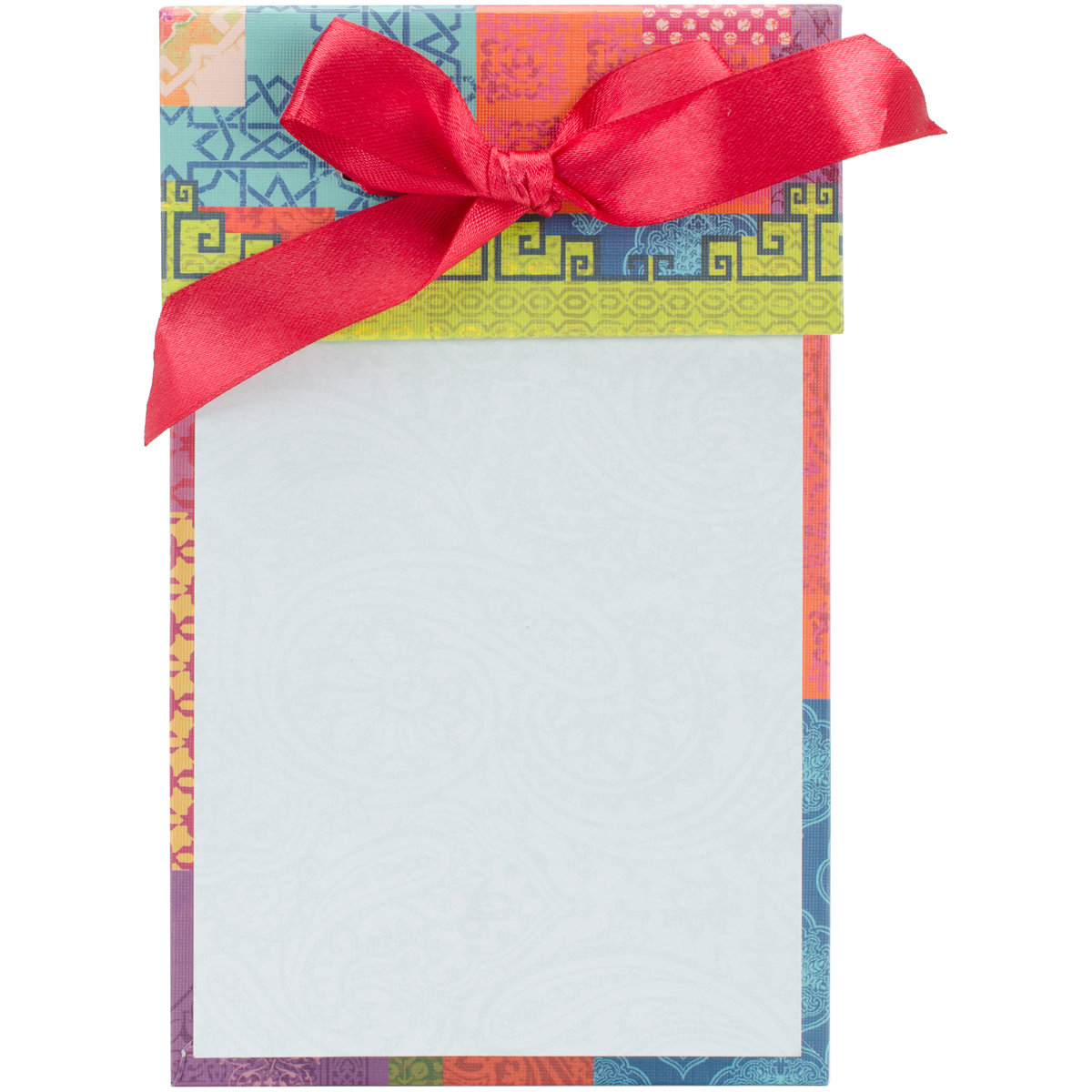 "Ribbon Note Pad 4.25""X6.75"" 100 Pages-Potpourri"