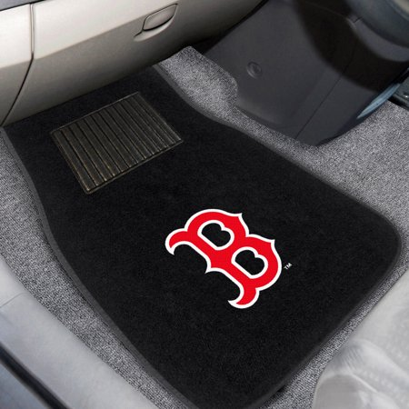 Boston Red Sox 2-Piece Embroidered Car Mat Set - No Size