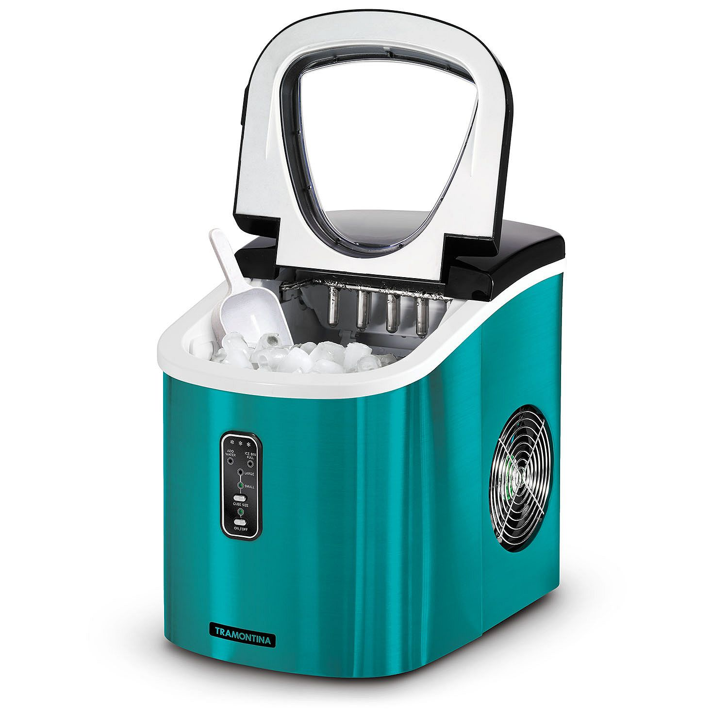 Tramontina Stainless Steel Ice Maker, Teal