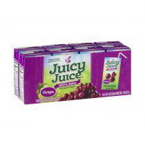 5 PACKS : Juicy Juice 100% Juice Grape, 8 Juice Boxes, 4.23 Ounce