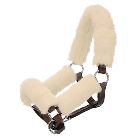 Tough-1 Mini Fleece Halter Kit Natural