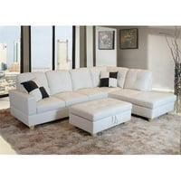 Lifestyle Furniture Sectional Sofas Walmart Com