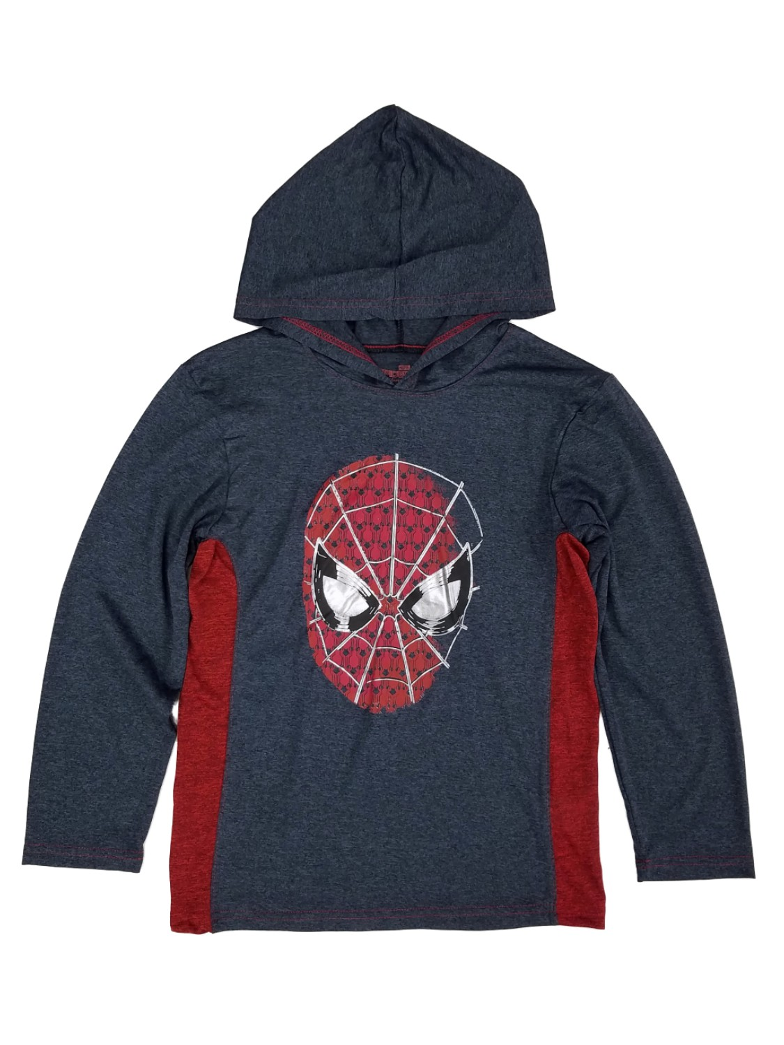 Spider-Man Homecoming Marvel Boys Gray/Red Hoodie Shirt