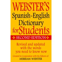 Webster's Spanish-English Dictionary for Students, Second Edition (Paperback)