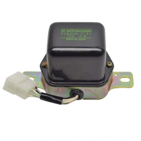- Voltage Regulator - Mechanical - 12 Volt, New, Denso, 026000-2121, Ford, SBA185516030, Hitachi