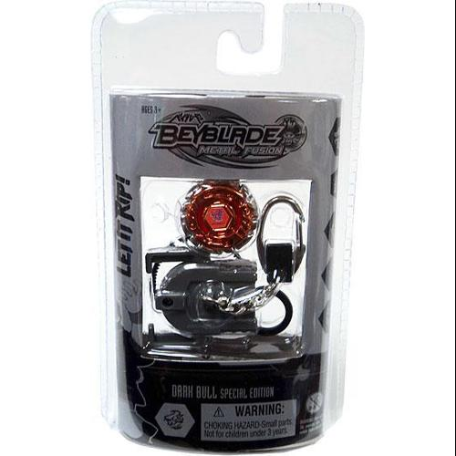 Beyblade Chrome Series 2 Dark Bull Keychain